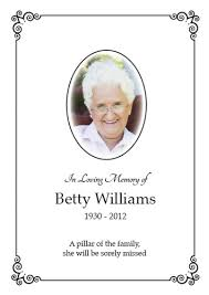 funeral card funeral remembrance card memorial and funeral cards page
