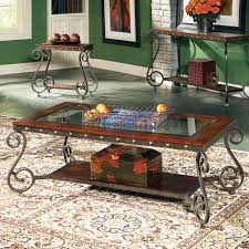 steve silver coffee table steve silver ellery rectangle wood and glass top coffee table