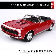 1967 camaro diecast aliexpress com buy 1 18 diecast car chevy 1967 camaro ss 396