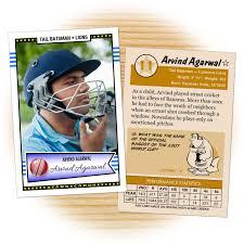 custom cricket cards retro 50 series starr cards
