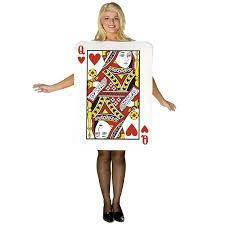 halloween costume queen of hearts queen of hearts deluxe playing card costume halloween
