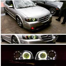 custom nissan maxima 00 03 custom headlight u0026 retrofits my4dsc com premier nissan