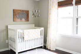 Gender Neutral Bedroom - gray u0026 gold gender neutral nursery reveal erin spain