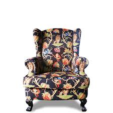 Tiger Fabric Chair Hotel Club Single Living Room Sofa Fabric Tiger - Single chairs living room