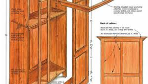 Shaker Style Armoire Cupboards Armoire Finewoodworking