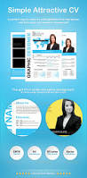 Attractive Resume Template Simple Attractive Cv By Xstyler Graphicriver