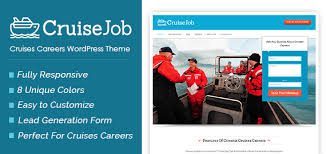 cruisejob cruises careers wordpress theme inkthemes