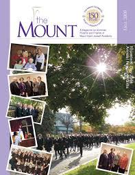 Kristine Brabson by Msja Fall 2008 Mount Magazine By Mount Saint Joseph Academy Issuu