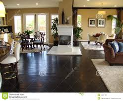 7 beautiful family room beautiful dining and family room stock