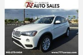 bmw x3 for sale used used bmw x3 for sale in az edmunds