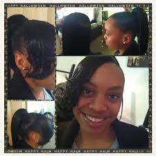 swoop ponytail hairstyles sculptured ponytail with swoop bang my creations