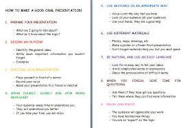 how to make good presentations sikana me