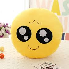 emoji decorative throw pillow warm hands stuffed smiley cushion
