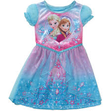 disney frozen baby toddler sleeve nightgown