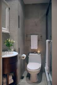 small half bathroom designs orange creative and casual rack wall