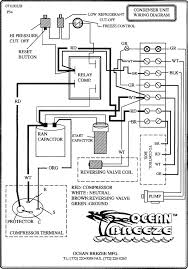 wiring diagram of outside condenser unit air conditioner wiring