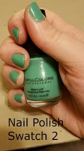 nail polish swatch sinful colors mint apple youtube