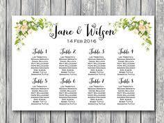 Wedding Seat Chart Template Free Wedding Seating Chart Printable Template Editable Wedding