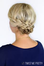 Hair Extensions For Updos by Braided Updos For Shoulder Length Hair