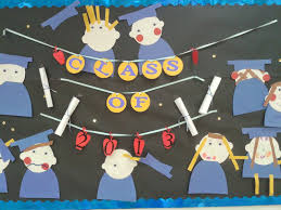 preschool graduation decorations graduation decorations for pre school each child made a
