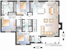 plan maison 3 chambres plain pied garage plan de maison plain pied 4 chambres avec garage plan maison 3