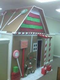 having a christmas cubicle makeover contest would be a great idea