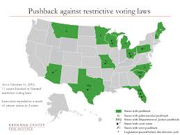 Federal Circuit Court Map Election 2012 Voting Laws Roundup Brennan Center For Justice