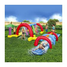 backyard water park party home outdoor decoration