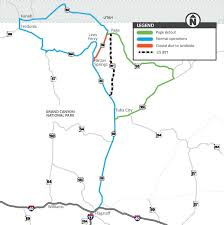 Virgin America Route Map by Newly Completed Us 89 Bypass Fully Open With No Restrictions