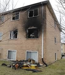 three story building leaves six unit rosemont apartment building uninhabitable