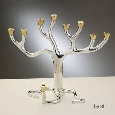 menorah tree of menorah tree of tm slvrplt gldtone cups 11 x9 gift box
