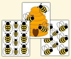 bumblebee wall decal bee rub on decoration fairydustdecals bumble