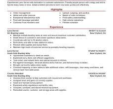Resume Examples Server by Sample Server Resume Sample Waitress Resume Resume Cv Cover