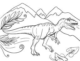 free allosaurus coloring