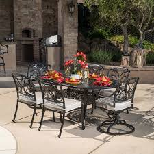 Patio Furniture 7 Piece Dining Set - san paulo 7 piece patio dining set
