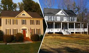 wrap around front porch wrap around front covered porch addition before and after home