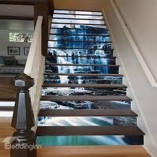 3d stair murals stair riser decals wallpaper for hallways and