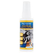 pro sense all dogs itch relief hydrocortisone spray 4 fl oz