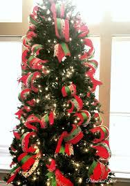 my christmas how i put ribbon on my christmas tree patina and paint