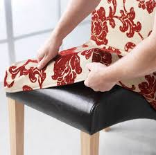 Dining Chair Cover Cool How To Make A Dining Chair Cover Chair Pads U0026 Cushions