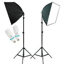 Photography Lighting 2pcs Photo Studio Lighting Softbox Photography Equipment Studio