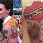 ruby rose crown chest tattoo steal her style