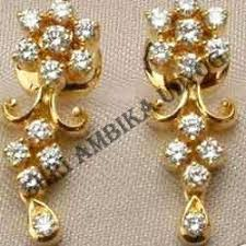 gold ear ring image gold earrings in jaipur rajasthan sone ki baliyan manufacturers