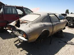 car junkyard near me junkyard find 1969 opel gt the truth about cars