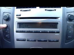 2010 toyota yaris cd player stereo youtube