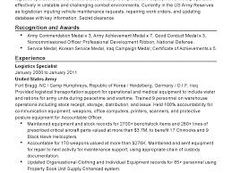 veteran resume exles to civilian resume exles infantry army sle template
