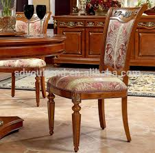 Carved Dining Table And Chairs 0029 Beech Wood Carving Furniture Classic Wood Dining Table