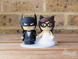 batman wedding cake toppers batman and wedding cake topper by genefy playground https