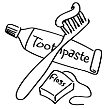 clip art dental hygiene bw clipart library free clipart
