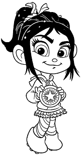 wreck it ralph star coloring page wecoloringpage